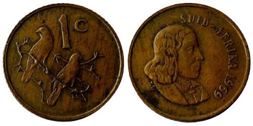 1 цент 1969 ЮАР