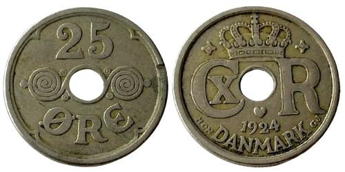 25 эре 1924 Дания