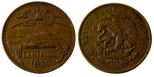 20 сентаво 1970 Мексика