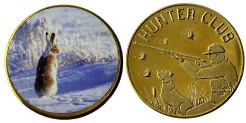 Памятная медаль — Клуб охотников — Заяц