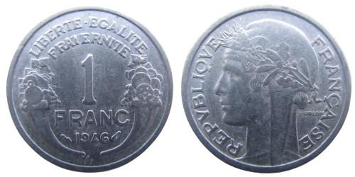 1 франк 1946 Франция