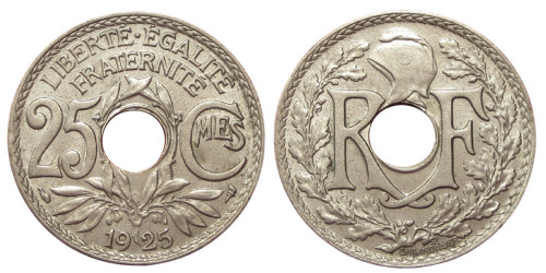 25 сантимов 1925 Франция
