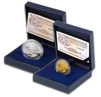 Подарочные монеты
